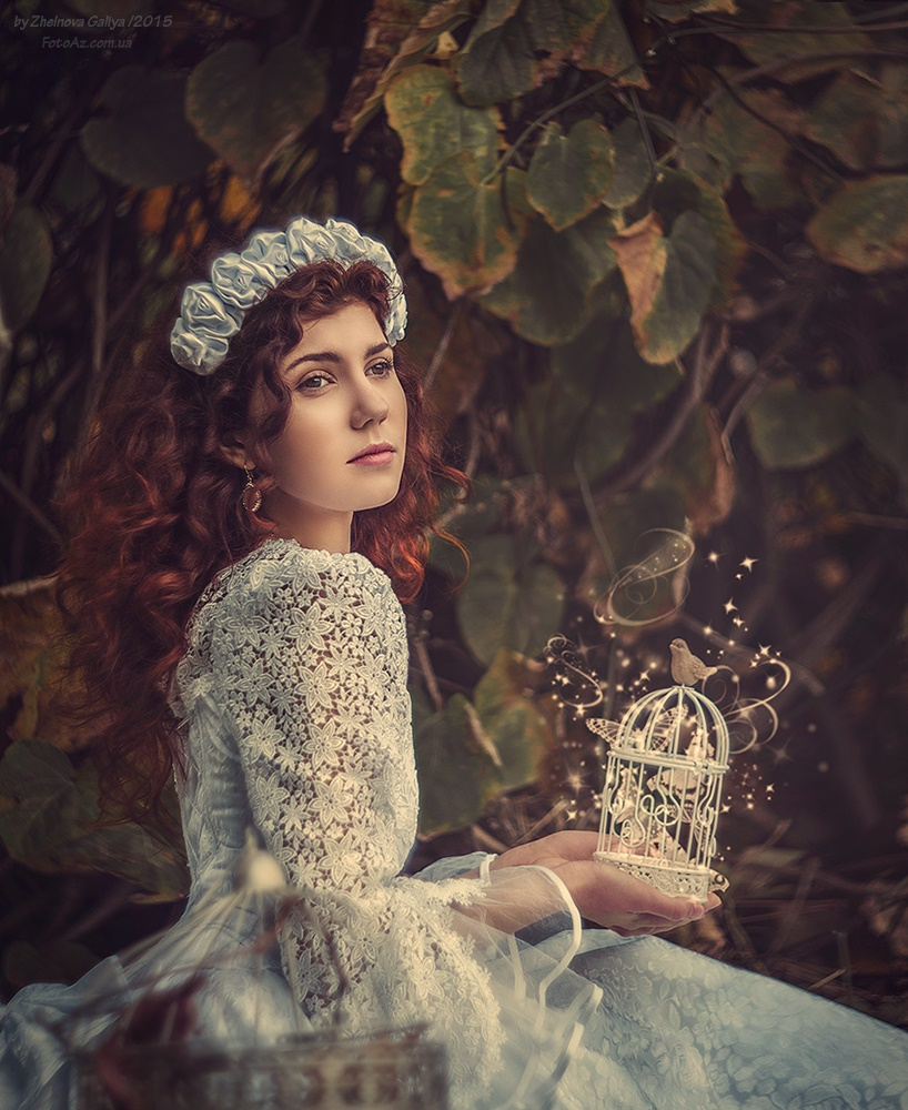 Fascinating portraits by the photographer Galiya Zhelnova - 19