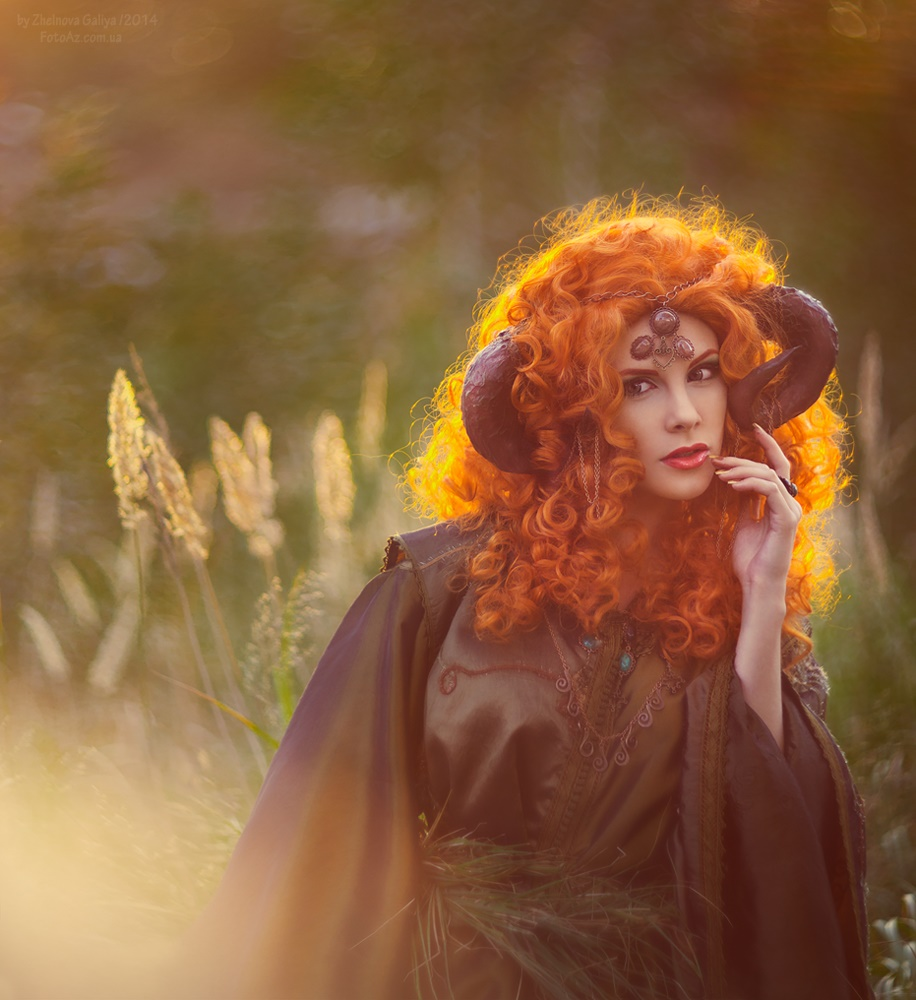 Fascinating portraits by the photographer Galiya Zhelnova - 21