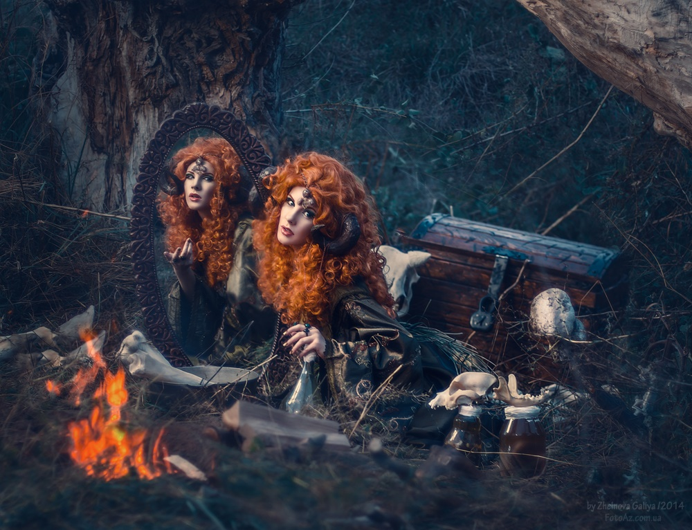 Fascinating portraits by the photographer Galiya Zhelnova - 22
