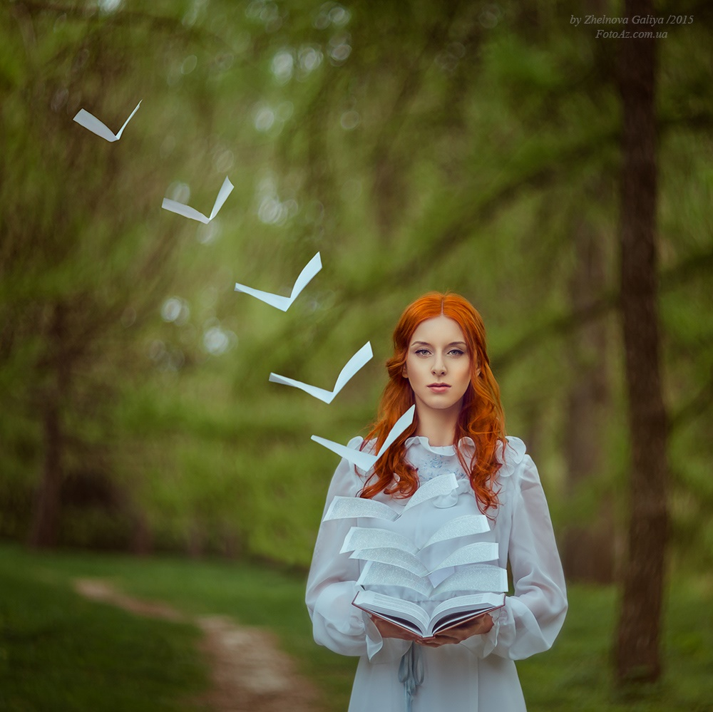 Fascinating portraits by the photographer Galiya Zhelnova - 23
