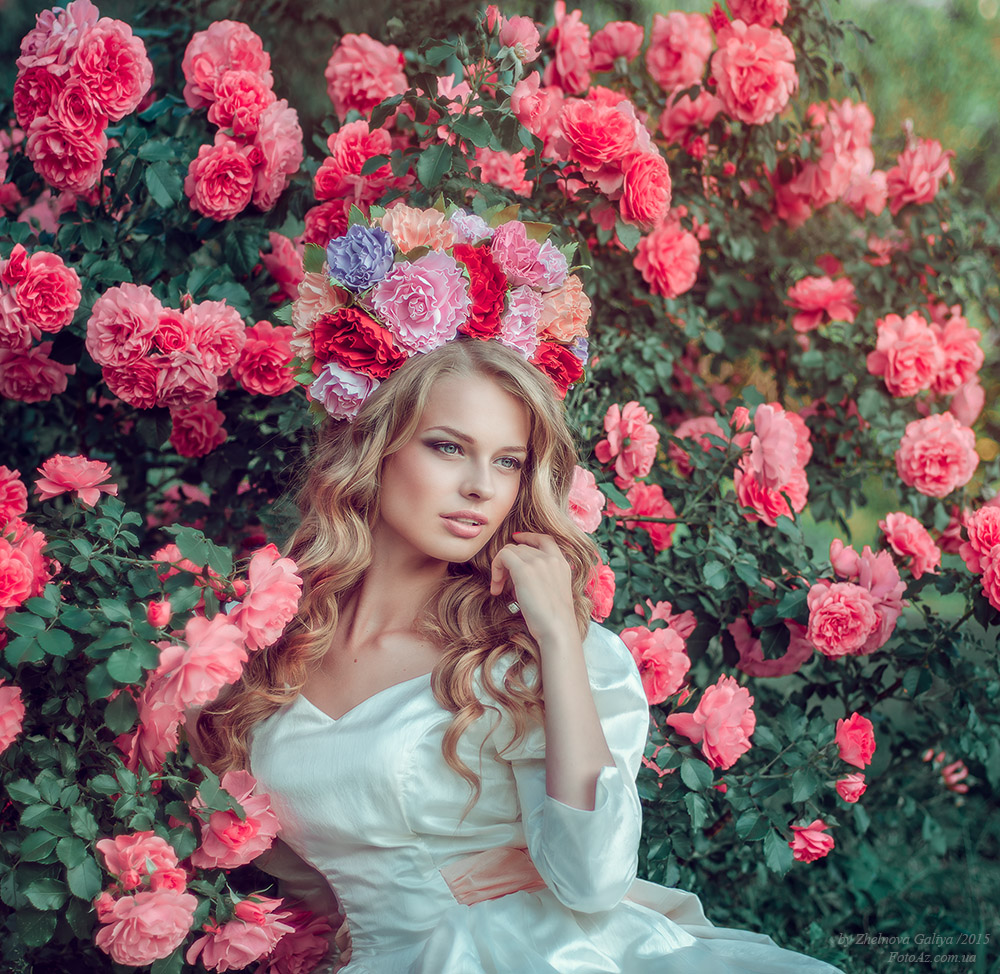 Fascinating portraits by the photographer Galiya Zhelnova - 28