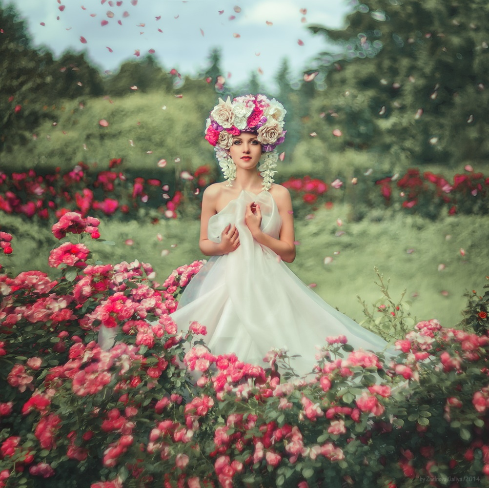 Fascinating portraits by the photographer Galiya Zhelnova - 31