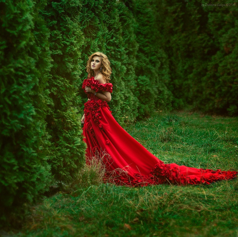 Fascinating portraits by the photographer Galiya Zhelnova - 34