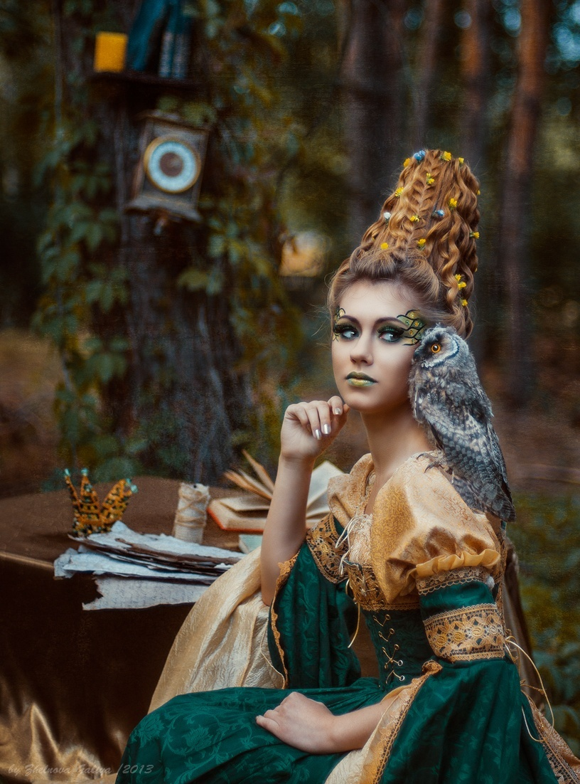 Fascinating portraits by the photographer Galiya Zhelnova - 35