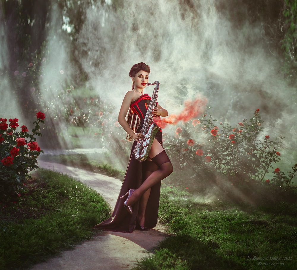 Fascinating portraits by the photographer Galiya Zhelnova - 37