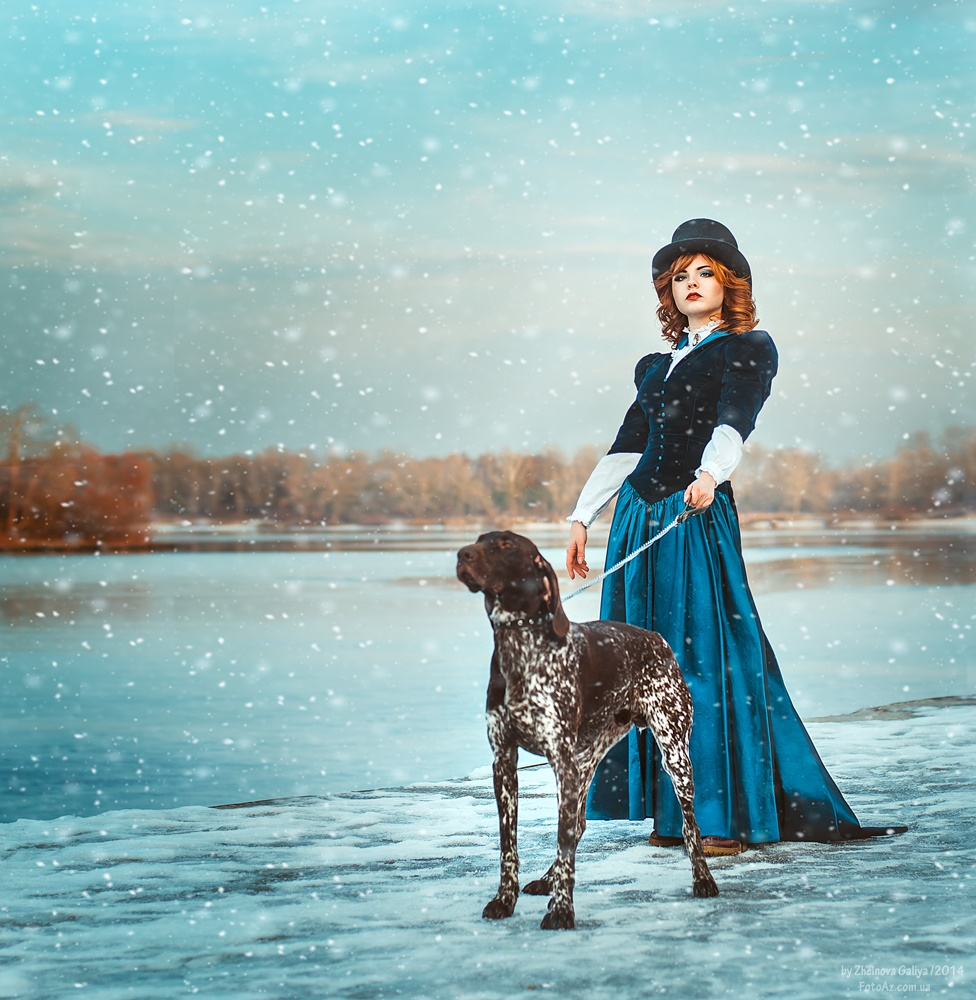 Fascinating portraits by the photographer Galiya Zhelnova - 8