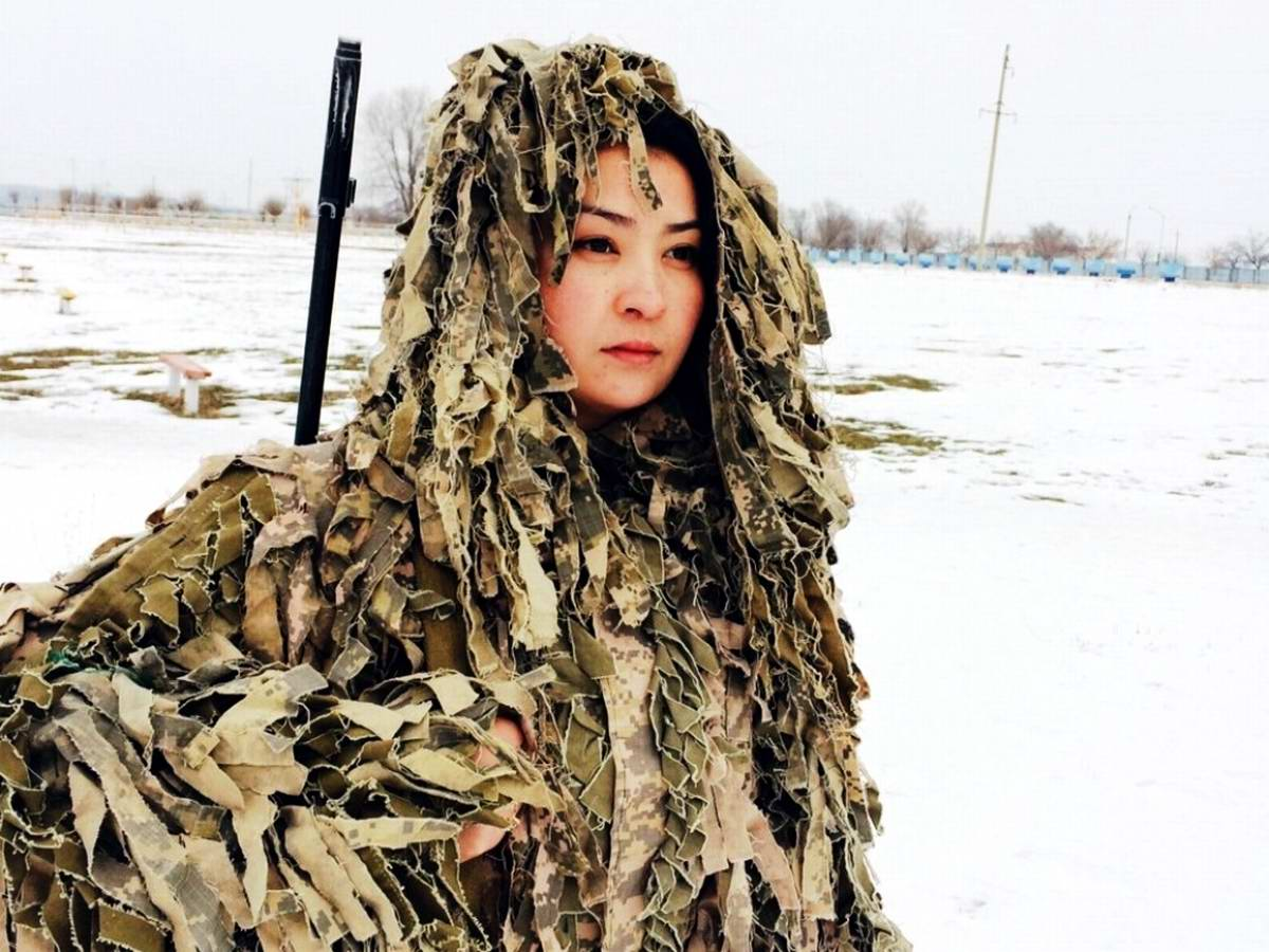 Feminine Armed Forces: Girls from the army of Kazakhstan - 19