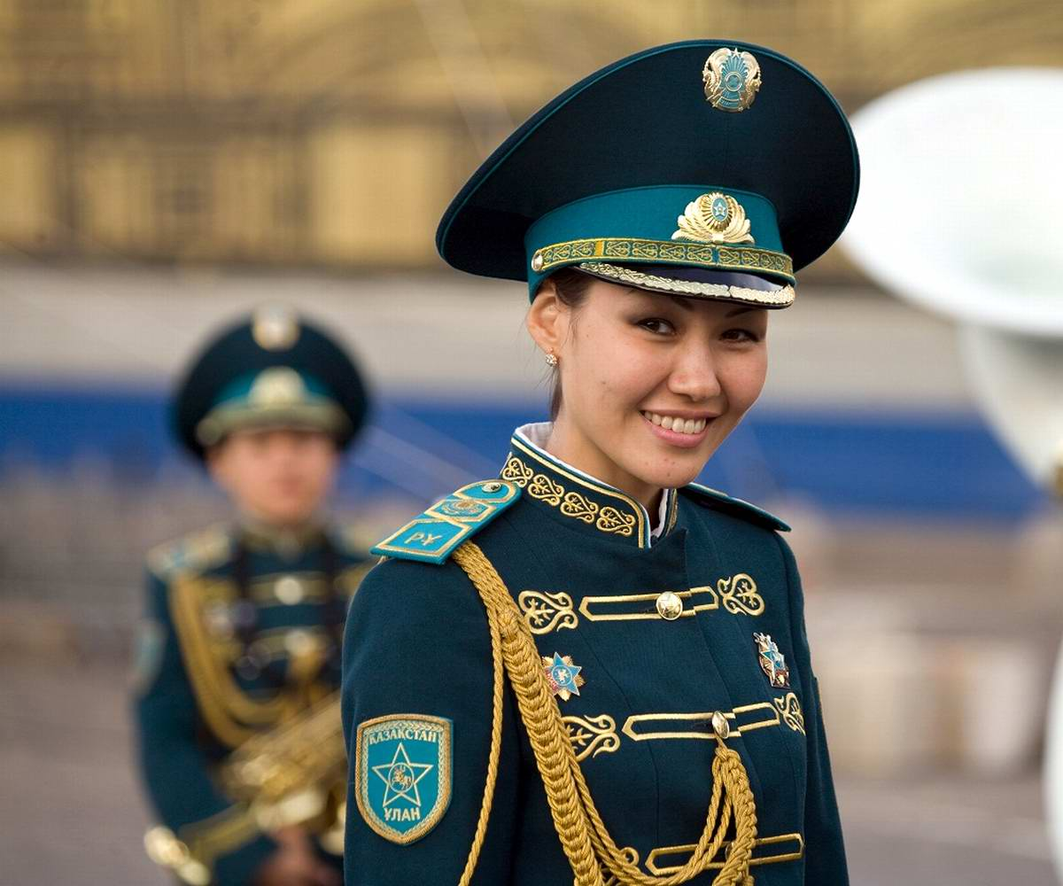 Feminine Armed Forces: Girls from the army of Kazakhstan - 2