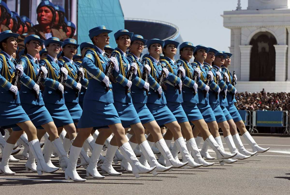 Feminine Armed Forces: Girls from the army of Kazakhstan - 20