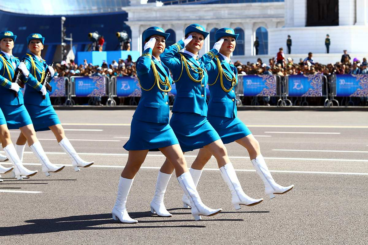 Feminine Armed Forces: Girls from the army of Kazakhstan - 6