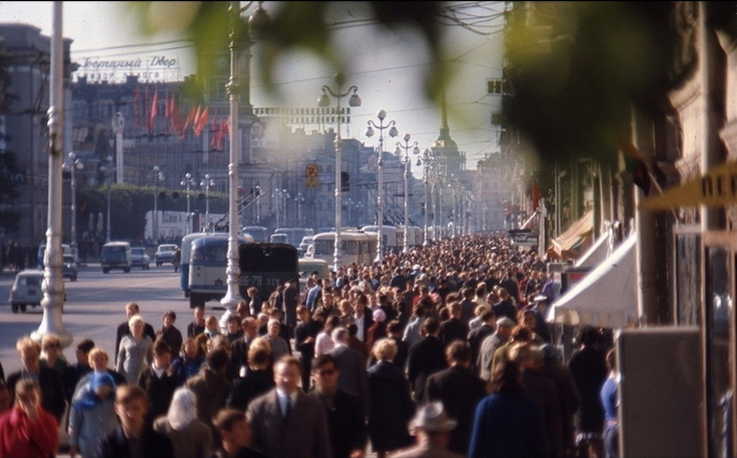 Leningrad in 1965: The USSR on photos by Hans Rudolf Uthoff - 14