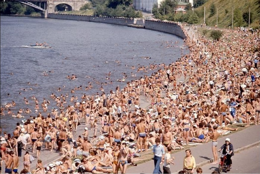 Moscow in 1975: The USSR on photos by Hans Rudolf Uthoff - 10