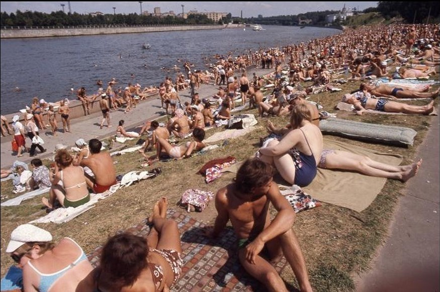 Moscow in 1975: The USSR on photos by Hans Rudolf Uthoff - 12