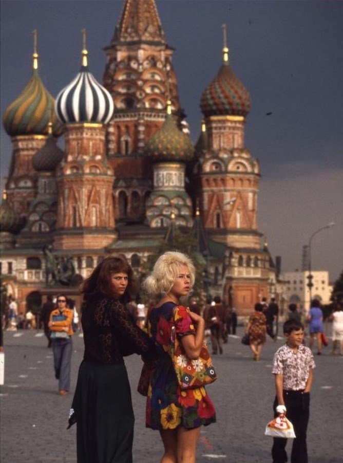 Moscow in 1975: The USSR on photos by Hans Rudolf Uthoff - 23
