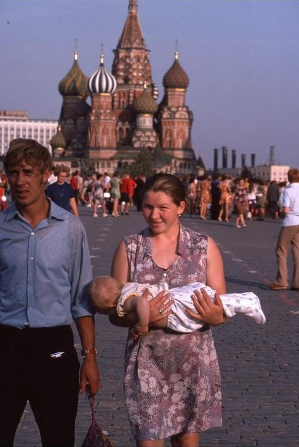 Moscow in 1975: The USSR on photos by Hans Rudolf Uthoff - 24