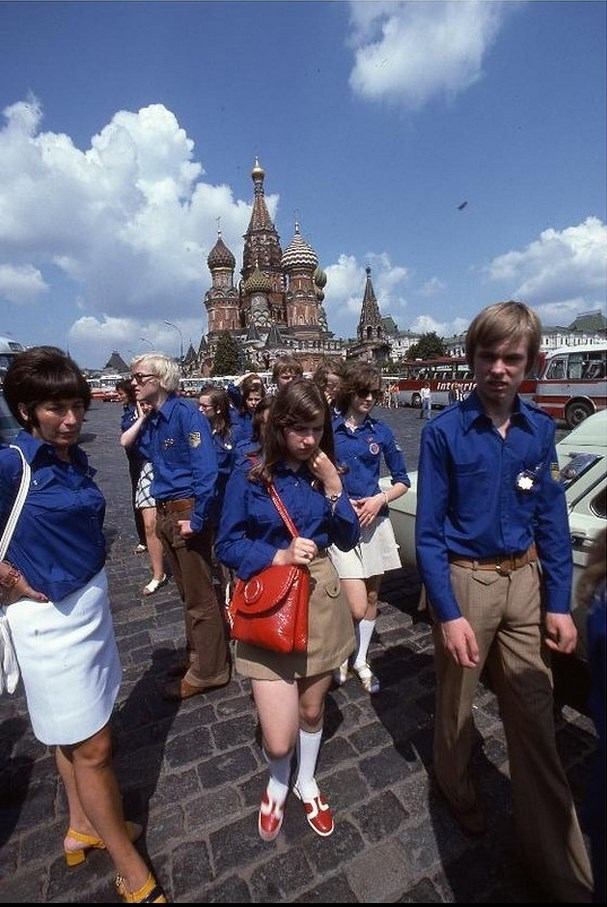 Moscow in 1975: The USSR on photos by Hans Rudolf Uthoff - 25