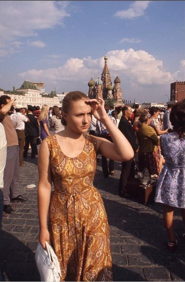 Moscow in 1975: The USSR on photos by Hans Rudolf Uthoff - 26