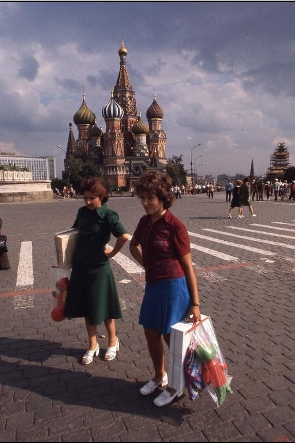 Moscow in 1975: The USSR on photos by Hans Rudolf Uthoff - 27