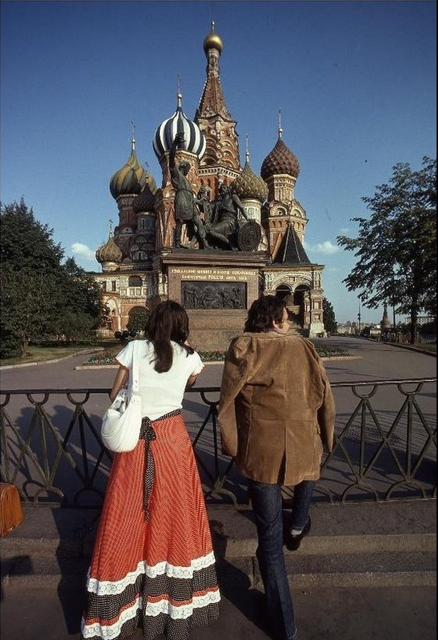 Moscow in 1975: The USSR on photos by Hans Rudolf Uthoff - 28