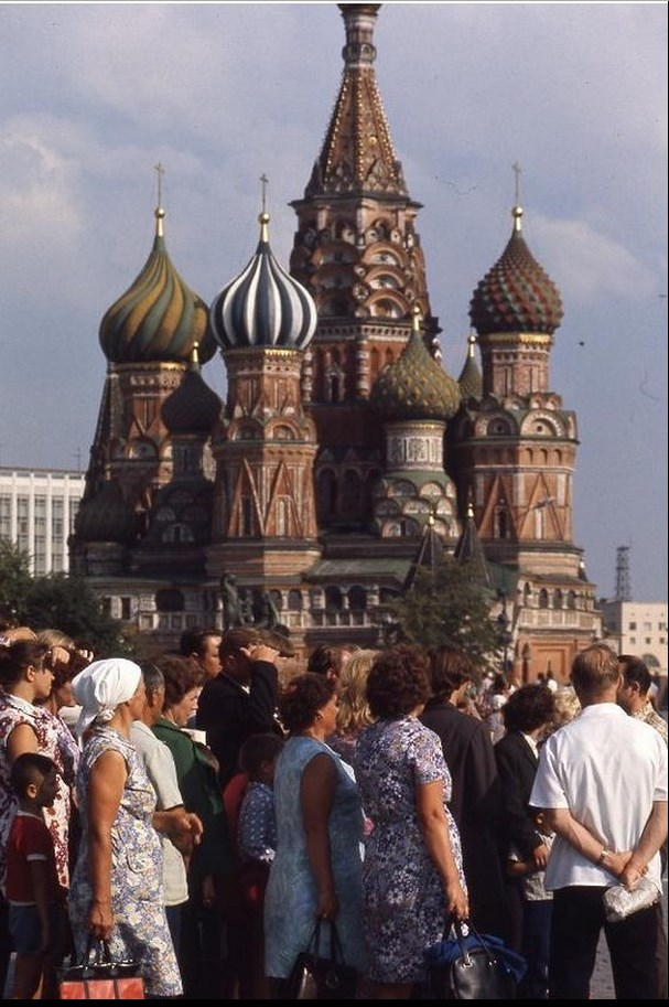 Moscow in 1975: The USSR on photos by Hans Rudolf Uthoff - 34