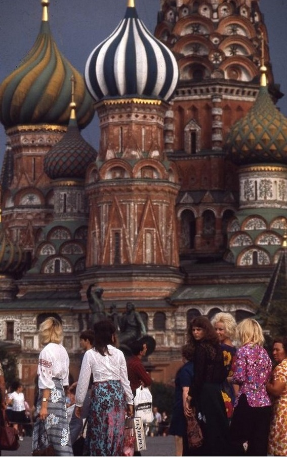 Moscow in 1975: The USSR on photos by Hans Rudolf Uthoff - 35