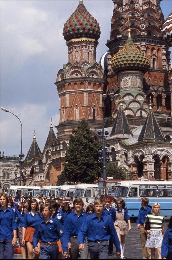Moscow in 1975: The USSR on photos by Hans Rudolf Uthoff - 36
