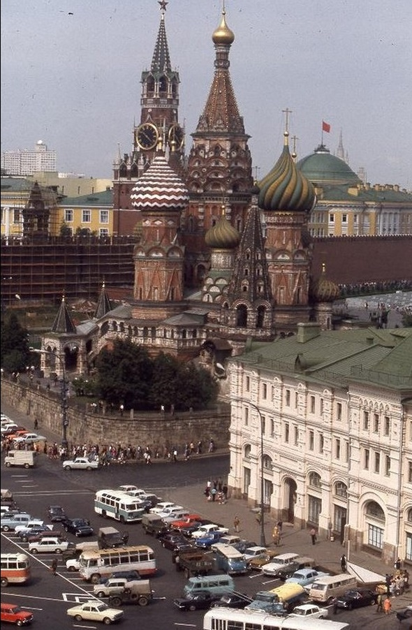 Moscow in 1975: The USSR on photos by Hans Rudolf Uthoff - 37