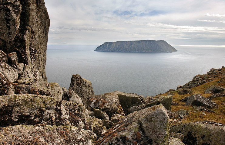 Easternmost point of Russia: Big Diomede Island - 5
