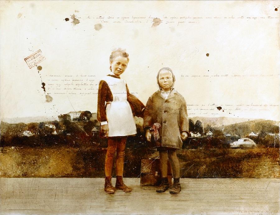 Old memories: Pictures by Belarusian artist Andrei Zadorine - 1