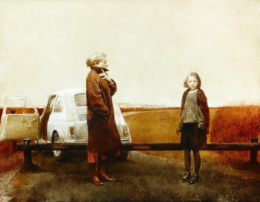 Old memories: Pictures by Belarusian artist Andrei Zadorine - 11