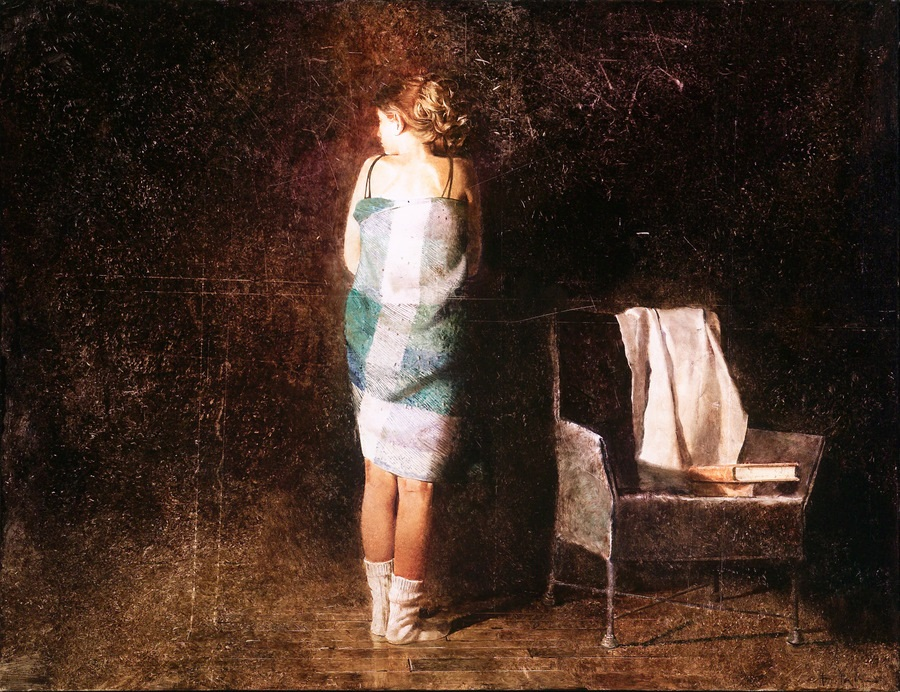 Old memories: Pictures by Belarusian artist Andrei Zadorine - 13