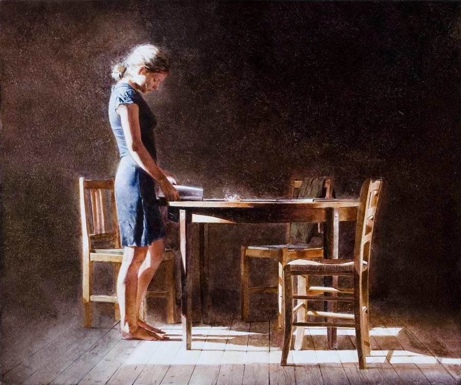 Old memories: Pictures by Belarusian artist Andrei Zadorine - 17