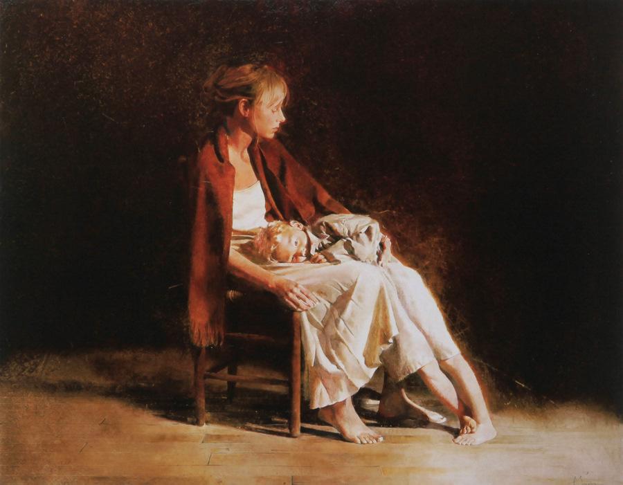 Old memories: Pictures by Belarusian artist Andrei Zadorine - 19