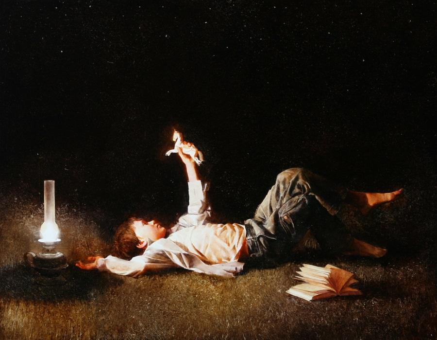 Old memories: Pictures by Belarusian artist Andrei Zadorine - 20