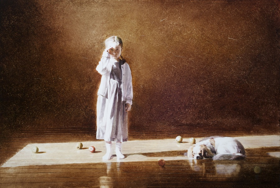 Old memories: Pictures by Belarusian artist Andrei Zadorine - 21