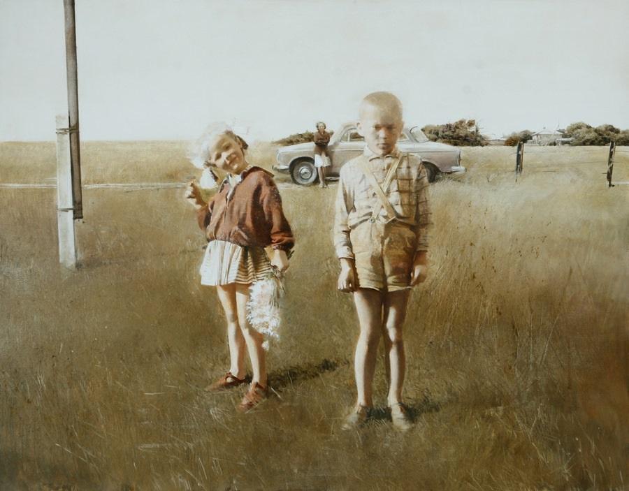 Old memories: Pictures by Belarusian artist Andrei Zadorine - 25
