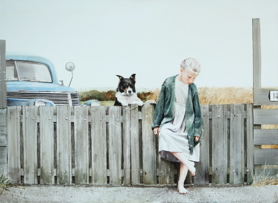 Old memories: Pictures by Belarusian artist Andrei Zadorine - 27