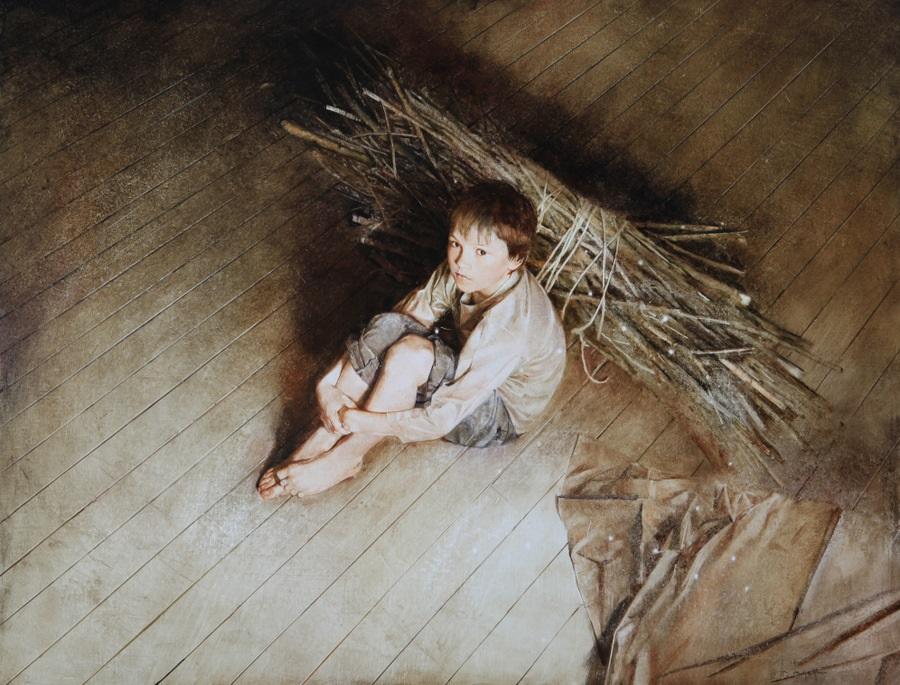 Old memories: Pictures by Belarusian artist Andrei Zadorine - 29
