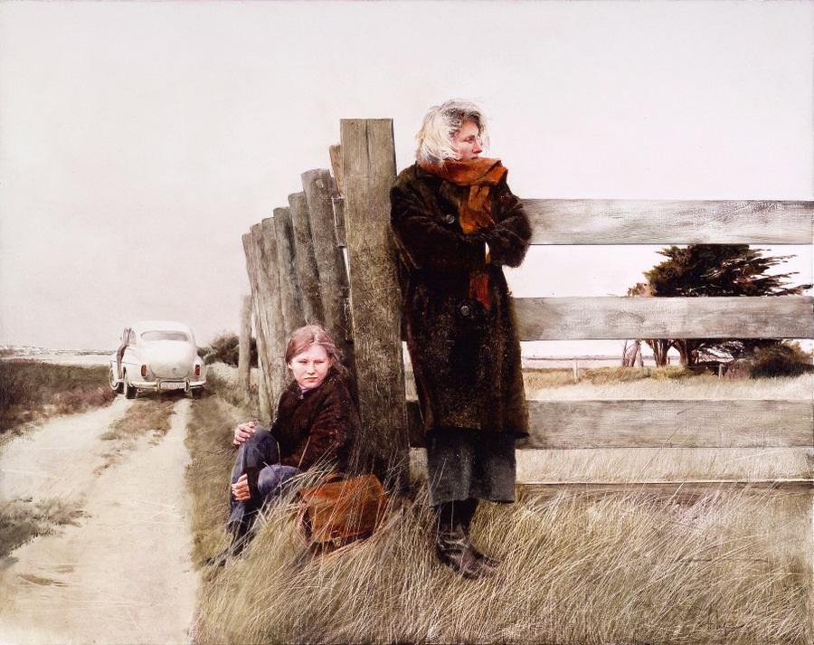 Old memories: Pictures by Belarusian artist Andrei Zadorine - 3