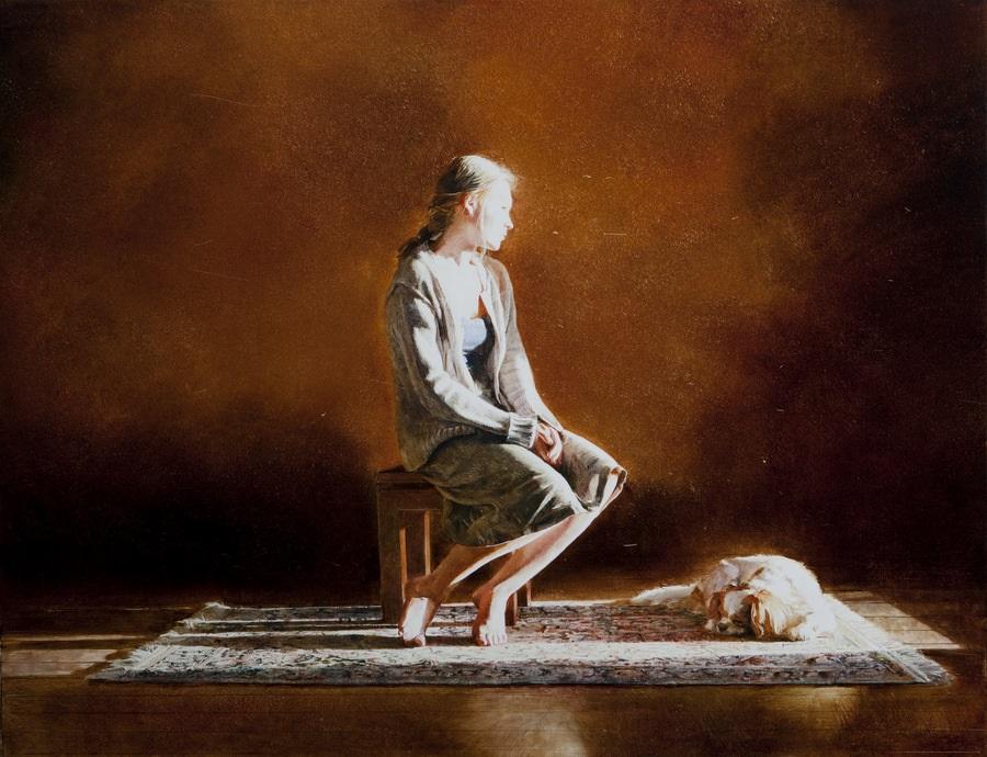 Old memories: Pictures by Belarusian artist Andrei Zadorine - 31