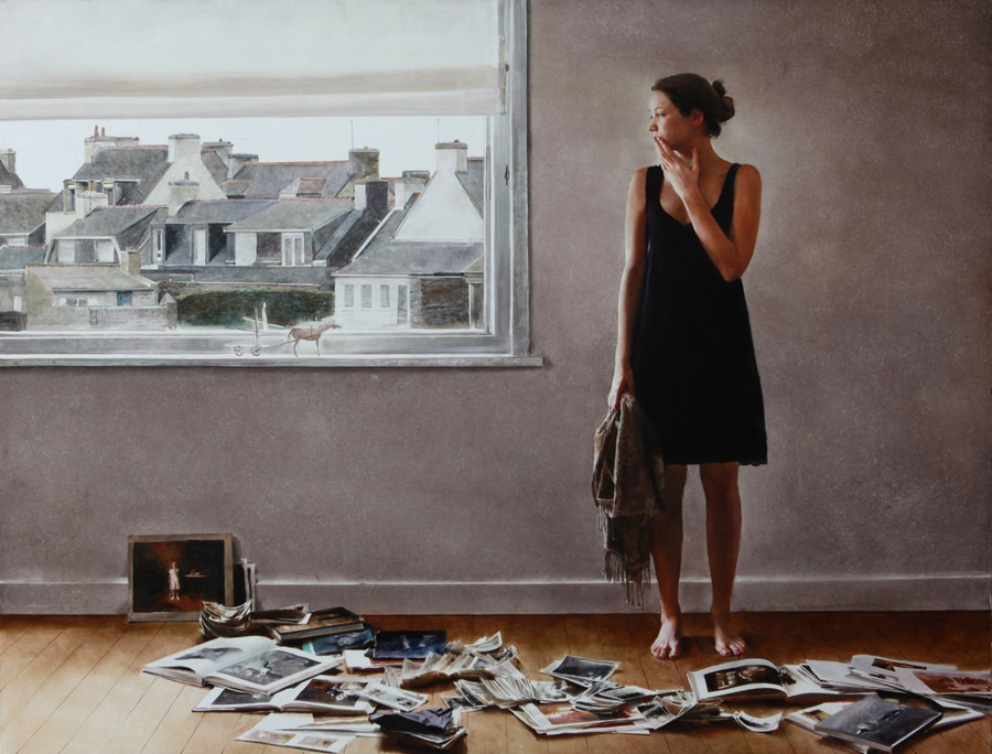Old memories: Pictures by Belarusian artist Andrei Zadorine - 33