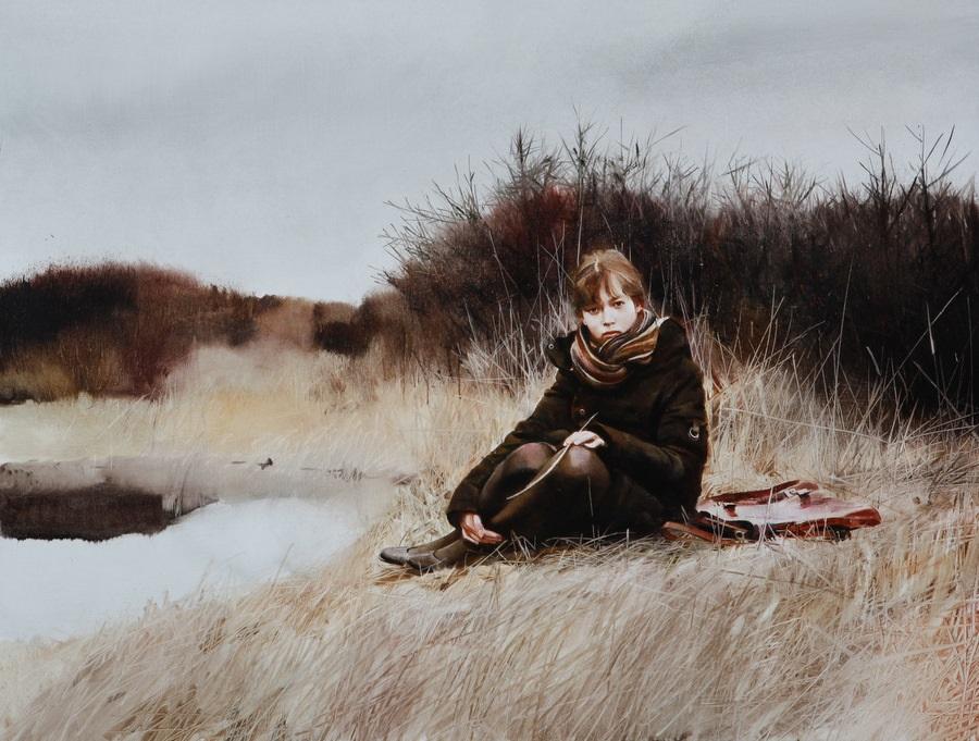 Old memories: Pictures by Belarusian artist Andrei Zadorine - 34