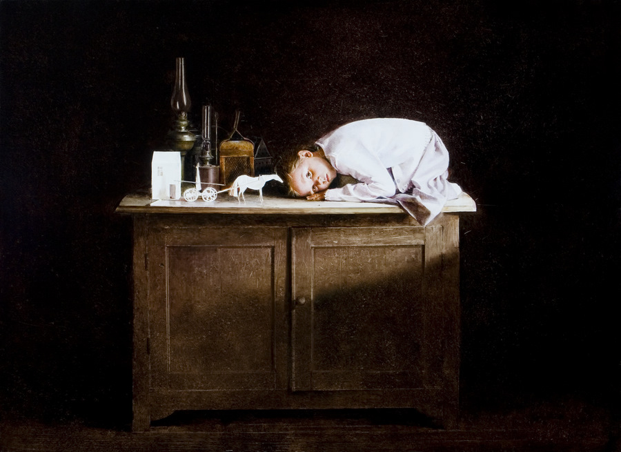 Old memories: Pictures by Belarusian artist Andrei Zadorine - 8