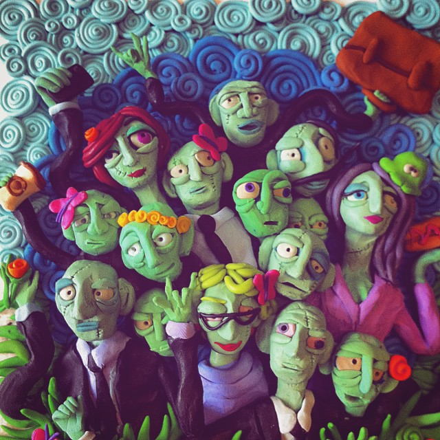 Plasticine dreams: Ironical illustrations by Tatyana Lazaryuk - 11