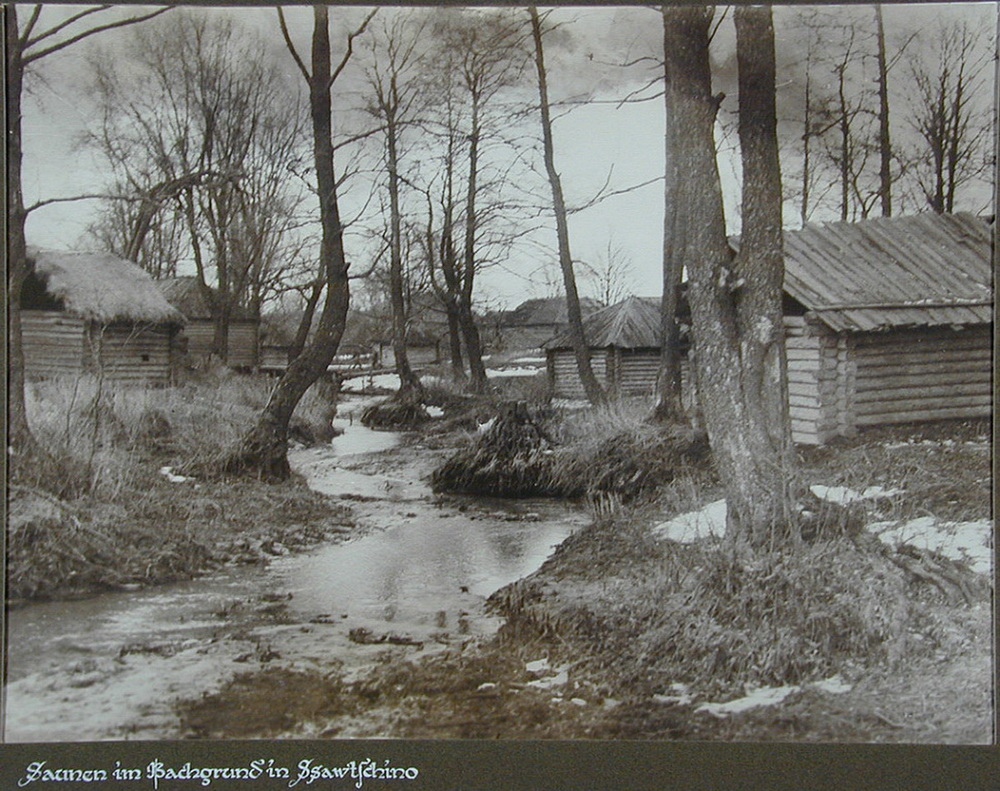 Soviet village during WWII on the photos of Asmus Remmer - 20