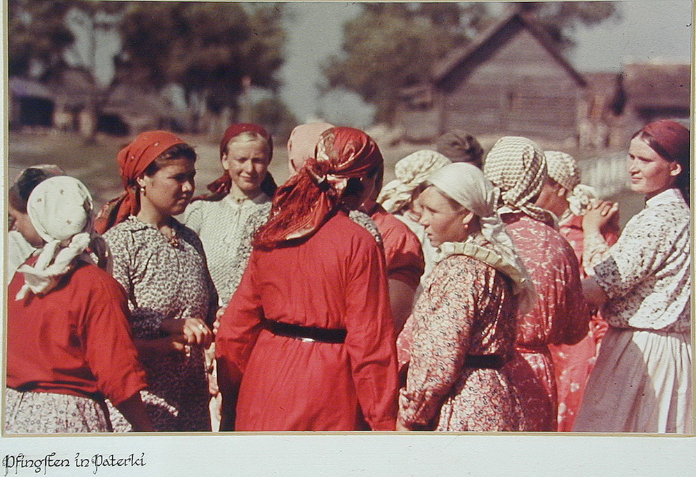 Soviet village during WWII on the photos of Asmus Remmer - 4