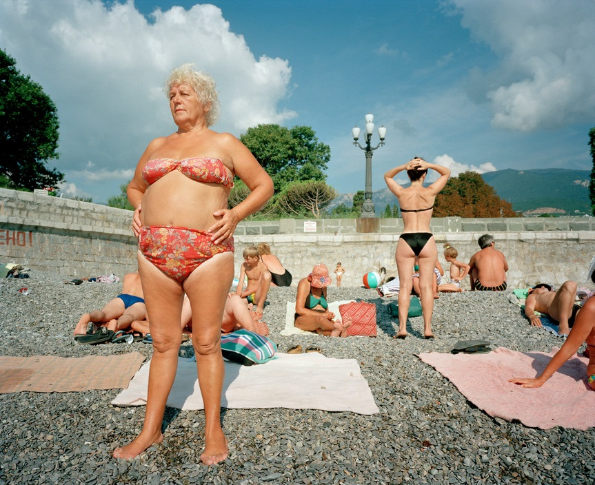 Ukraine 1990s: The city of Yalta on photos by Martin Parr - 12