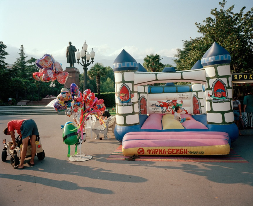 Ukraine 1990s: The city of Yalta on photos by Martin Parr - 18