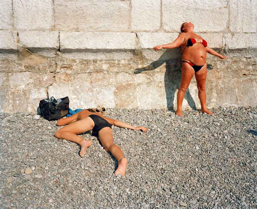 Ukraine 1990s: The city of Yalta on photos by Martin Parr - 26