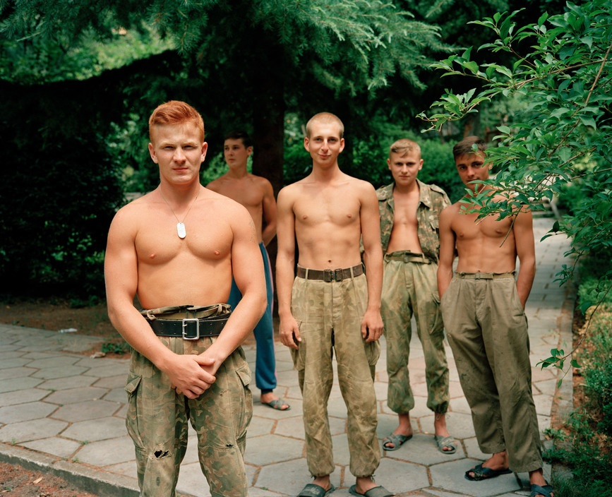 Ukraine 1990s: The city of Yalta on photos by Martin Parr - 27